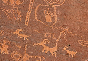 Valley of Fire State Park - Petroglyphs