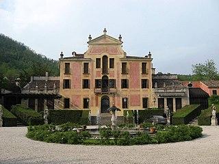 Villa Barbarigo (Valsanzibio) building in Valsanzibio, Italy