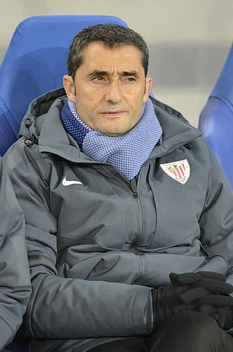 Ernesto Valverde - Valverde managing Athletic Bilbao in 2014
