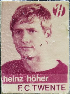 Heinz Höher German football player and manager