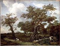 Van Kessel, Jan - A Wood near The Hague, with a view of the Huis ten Bosch - Google Art Project.jpg