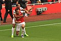 Van Persie Goal Celebrations 04 (6270645016).jpg