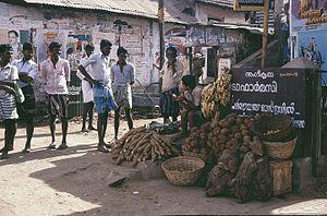 Vandiperiyar - Village vegetable shop