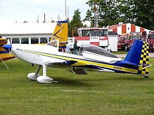 Van's Aircraft RV-8 - RV-8 at Smiths Falls, Ontario.