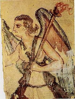 Vanth Etruscan deity associated with death and the journey of the deceased to the Underworld