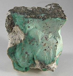 Variscite Hydrated aluminium phosphate