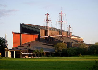 How to get to Vasamuseet with public transit - About the place
