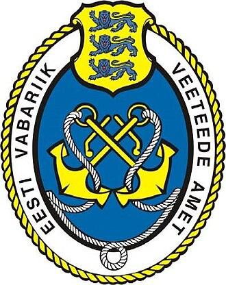 Estonian Maritime Administration - Image: Veeteede Ameti vapp
