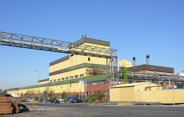 Vegetable Oil Refinery, King George Dock - geograph.org.uk - 389132