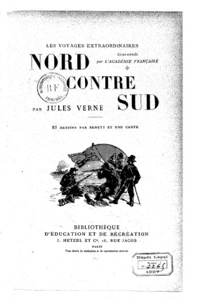 File:Verne - Nord contre sud, Hetzel, 1887.djvu