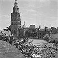Vernielde kazerne tussen Bult van Ketjen en het s-Gravenhof, Bestanddeelnr 900-5232.jpg