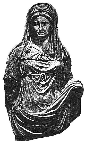 Priest - Vestal Virgin priestess of Ancient Rome