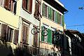 Via romana, decorazioni nataliazie a tema ciclistico, natale 2014, 02.JPG