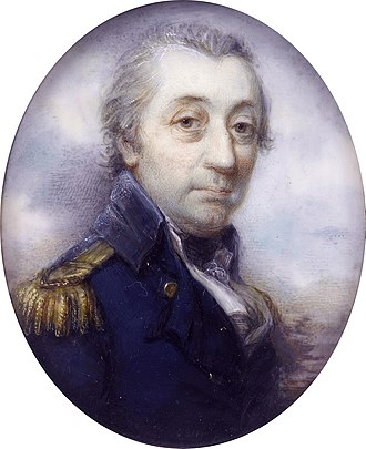 Mary Somerville - Her father, Vice-Admiral William Fairfax, painted in 1798