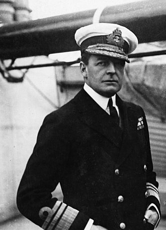 Battle of Jutland - David Beatty, commander of the British battlecruiser fleet