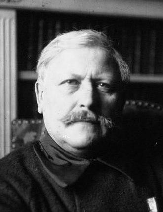 Victor Margueritte - Portrait of Victor Margueritte in 1918
