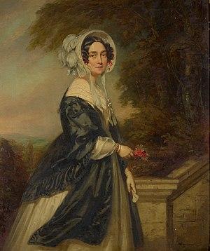John Lucas (painter) - Victoria of Saxe-Coburg-Saalfeld, Duchess of Kent, 1841 portrait by John Lucas