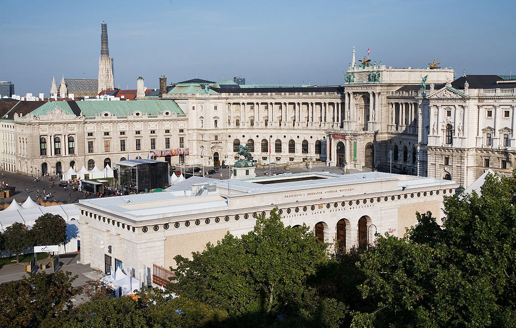 Vienna - Rooftop view of the Hofburg Palace