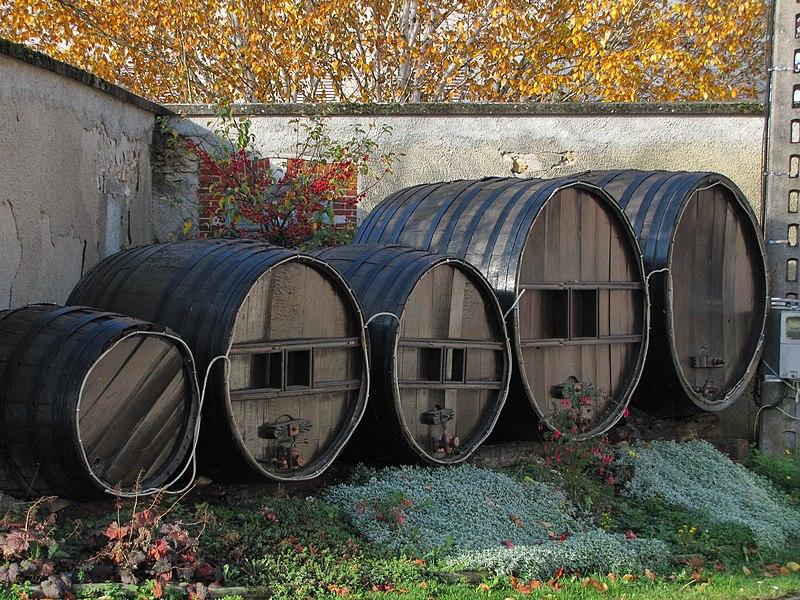 Vieux tonneaux à Cramant