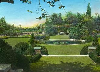 """James Leal Greenleaf - """"Welwyn"""", the estate of Harold Irving Pratt, designed by Greenleaf in the 1890s"""