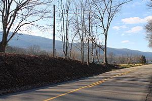 Fishing Creek Township, Columbia County, Pennsylvania - Fishing Creek Township as seen from Winding Road