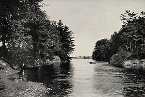 Kennebunk, Maine - Kennebunk River in 1903