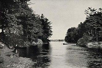 Kennebunk, Maine - Kennebunk River in 1903