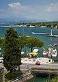 View of Lake Garda from Peschiera del Garda. Italy.jpg