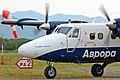 Viking DHC-6 Twin Otter Aurora Airlines taxing in Preobrazheniye.jpg