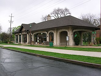 Villa Park, Illinois - Villa Avenue Train Station
