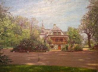 Rolighed (Skodsborg) - Rolighed painted by Adolph Larsen