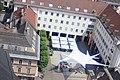 Villach - Blick von der Stadtparrkirche auf den Rathausplatz.JPG