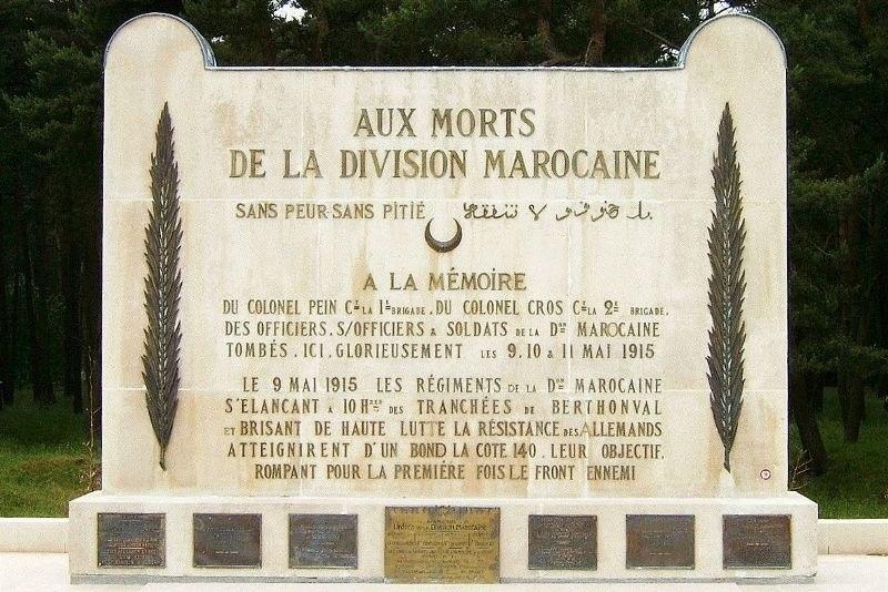 Vimy Ridge - Moroccan Division Memorial
