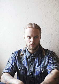 Vincent Pontare Swedish singer and songwriter