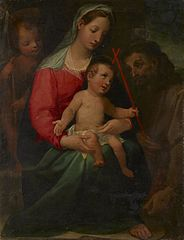 Madonna and Child with the Infant Saint John the Baptist and Saint Francis