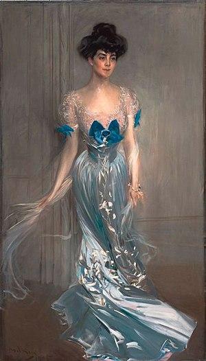 Virginia Fair Vanderbilt - Portrait by Giovanni Boldini, c. 1900