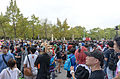 Visitors and Cosplayers in East Square of NTU Gym 20151025a.jpg