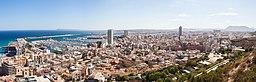 Vy over Alicante, 2014.