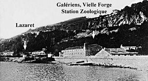 Observatoire Oceanologique de Villefranche - Station Zoologique Vilefranche-sur-mer, ca. 1909