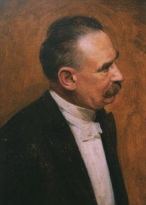 Xaver Scharwenka - Portrait by Anton von Werner