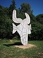 Vondelpark, Picasso kunstobject foto 3.JPG