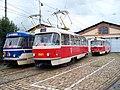 Vozovna Střešovice, tramvaje T3.jpg