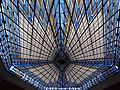 Vroom & Dreesmann (Amersfoort) Stained glass ceiling pic2.JPG