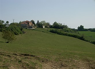 Agassac - A general view of Agassac
