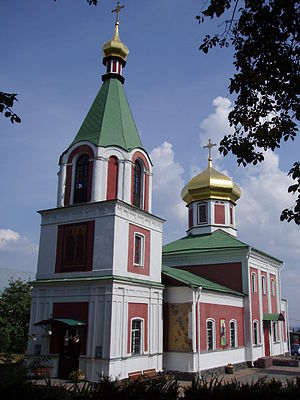 Vyshhorod - Borysohlebska Church (Church of Saints Boris and Gleb) in Vyshhorod.