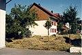Würenlingen, de letscht Heuet a de Dorfstross.jpg