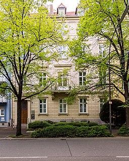 Ludwigstraße in Würzburg