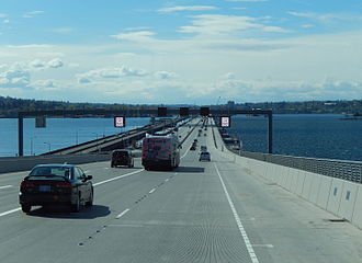 Evergreen Point Floating Bridge (2016) - New Evergreen Point Floating Bridge has been in use since April 2, 2016.