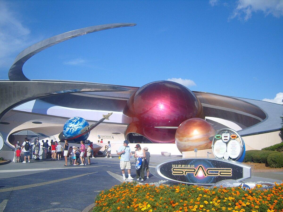 Mission: SPACE (attractie) - Wikipedia