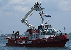 Fireboat - Toronto Fireboat WL Mackenzie